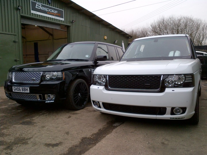 Range Rover Black >> L322 Conversions